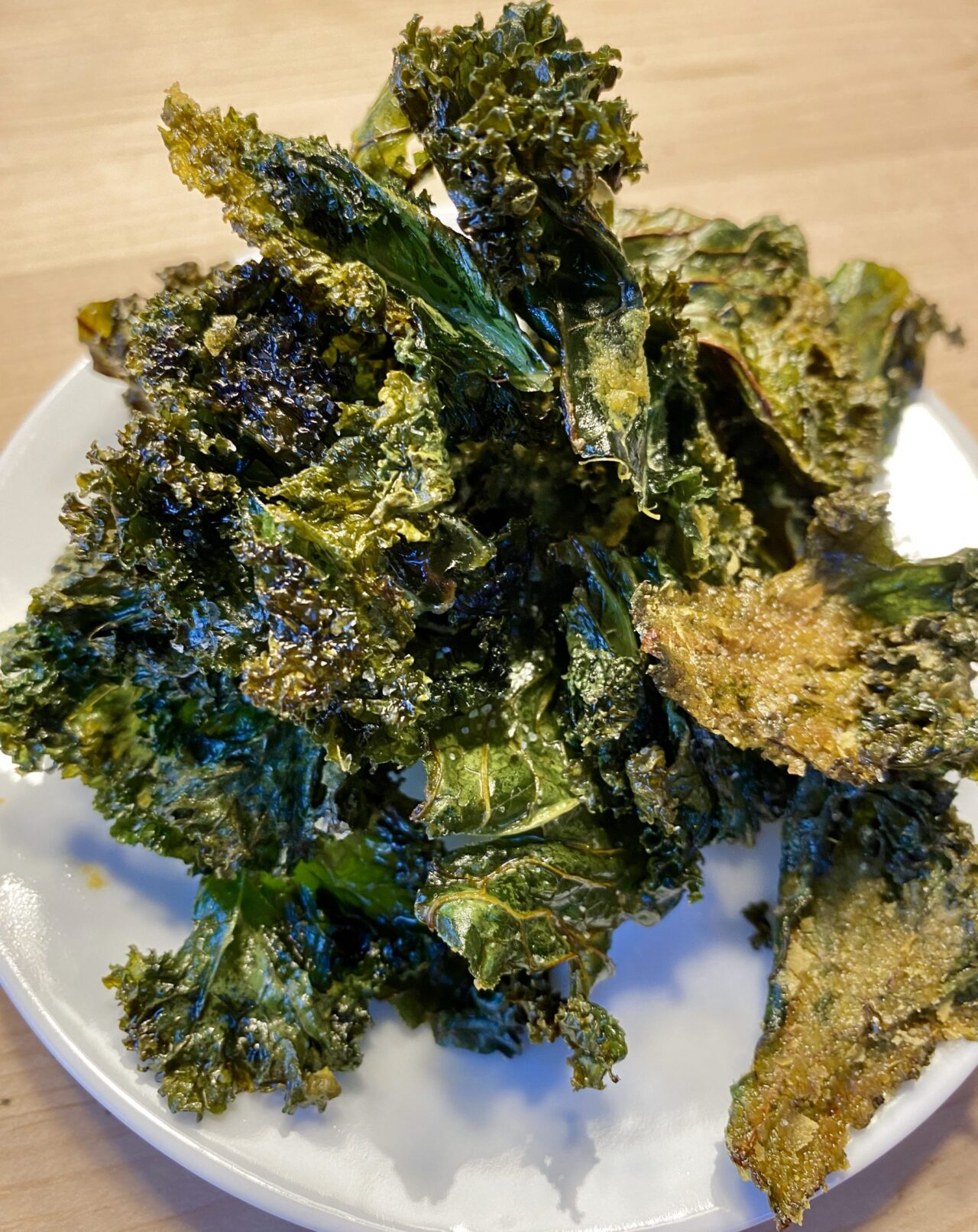Not-for-Date-Night Easy Kale Chips